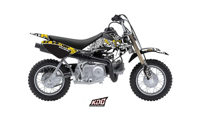 Kit déco moto metal mulisha