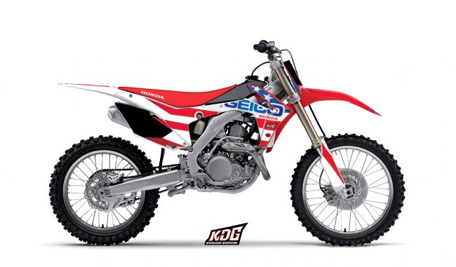 Kit déco moto Honda