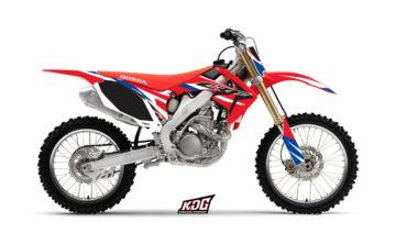 Kit déco motocross - Replica Canard - Honda 250 CRF 2010 à 2012