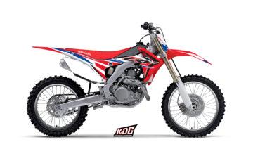 Kit déco motocross - Replica Canard - Honda 250 CRF 2014 à 2016 - Honda 450 CRF 2013 à 2016