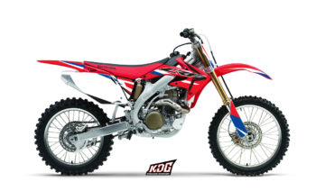 Kit déco motocross - Replica Trey Canard - Honda 450 CRF 2005 à 2007