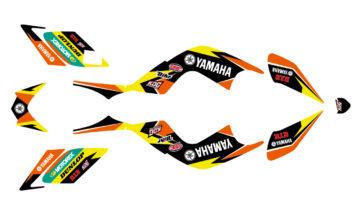 Kit déco YAMAHA 700 RAPTOR 2000 à 2012