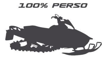 Kit déco motoneige 100% perso