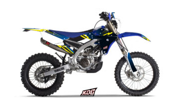 Kit déco enduro Stars - Yamaha 250 WRF 2017