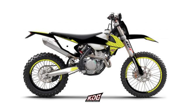 Kit déco enduro Honeycomb - KTM 250 EXC 2017