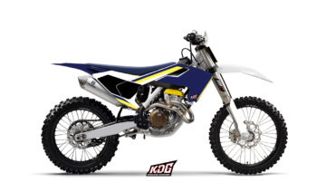 Kit déco Motocross - Origin - Husqvarna 125-250-450 FC TC 2016