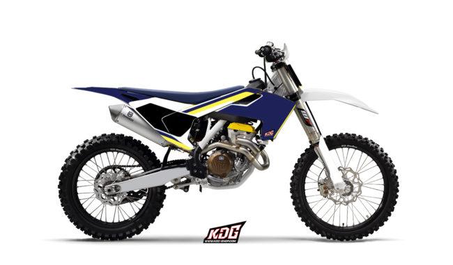 Kit déco Motocross - Origin - Husqvarna 125-250-450 FC TC 2016
