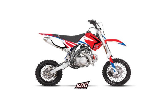 Kit déco moto pitbike - Replica Team World Cup - Apollo motors 150 RFZ