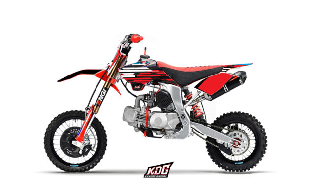 Kit déco moto pitbike - YCF FACTORY SP3 2014