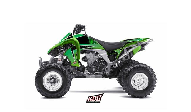 Kit déco quad Future - Kawasaki 450 KFX