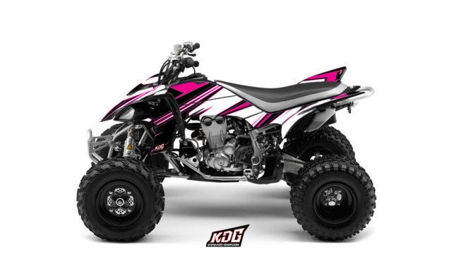 Kit déco Quad - Pink - Yamaha 450 YFZ-R 2003 à 2008
