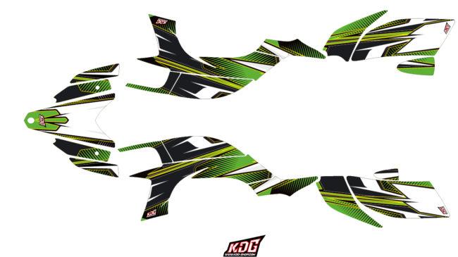 Kit Déco Quad - Speed - Yamaha 450 YFZ-R 2003 à 2008