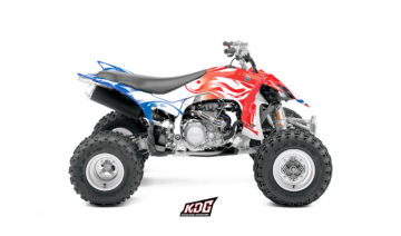 Kit déco Quad - Wave Nation France - Yamaha 450 YFZ-R 2014 à 2016