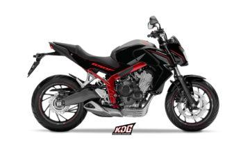 Kit déco moto Roadster Lines - HONDA 650 CBF 2014 à 2016