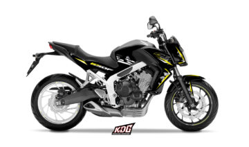 Kit déco moto Roadster Polygon - HONDA 650 CBF 2014 à 2016