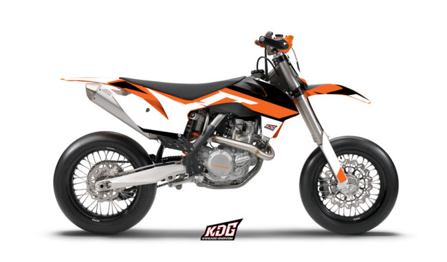 Kit déco Supermotard Base - KTM 450 SMR 2013 à 2014