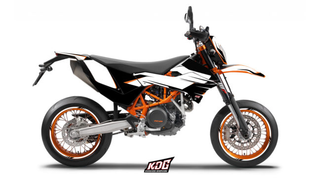 Kit déco moto supermotard - The Claw - KTM 690 SMC-R
