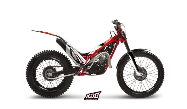 Kit déco Trial Pas + K Fond ! - Gas Gas 300 TXT PRO