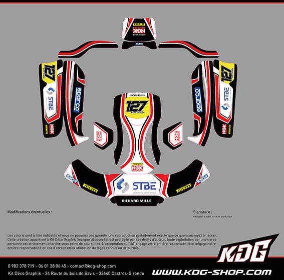 Maquette BAT Kit déco karting