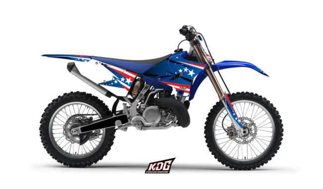 Kit déco motocross America - YAMAHA 125-250 YZ 2015